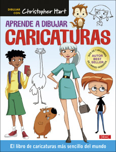 CUBIERTA APRENDE A DIBUJAR CARICATURAS CHRISTOPHER HART.indd